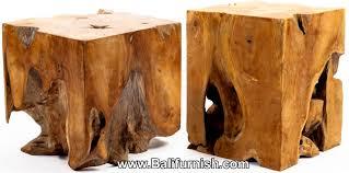 wood cubes furniture. Teak Root Wood Block. Cube Table Or Lamp Stand. Furniture Java Bali Indonesia Cubes T