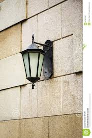 lighting on wall. Outdoor Light Wall Lamp Lighting Stock Image - Of Black, Classical: 47067067 On