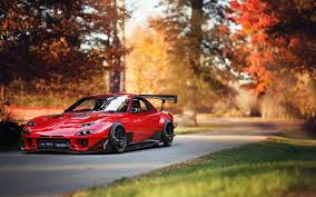 mazda rx8 modified red. mazda rx7 car red tuning rx8 modified d