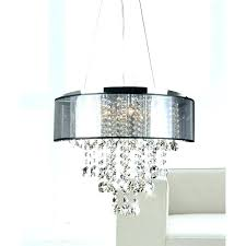 drum and crystal chandelier chandeliers drum chandelier with crystal black drum chandelier with crystals chrome and