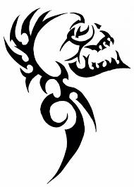 <b>Tribal skull</b> | <b>Tribal skull</b>, <b>Skulls</b> drawing, <b>Tribal</b> drawings