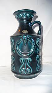 Decorative Jugs And Vases Miniature Decorative Greek Vase Hand Made Greece 24k Gold