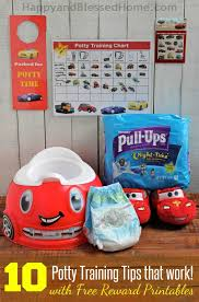 Pull Ups Rewards Chart 10 Potty Training Tips That Work With Free Printable Potty