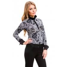 <b>Блузка</b>-<b>боди Mondigo</b> 7035. Цвет: черный купить по низкой цене ...