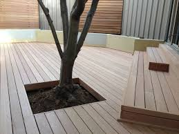 every deck designed by just deck it is completely individual it may be quite simple with straight edges following the contours of a building or it can be
