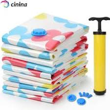 4pcs Jumbo Blue Vacuum Storage Bags Space Saver for Clothes and ... & 2017 Top Fashion Special Offer 11 Pcs / Set Vacuum Storage Bag Compression  Reusable Clothes Garment Adamdwight.com