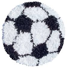 closeout gy raggy soccer ball rug contemporary novelty rugs by area rugs world