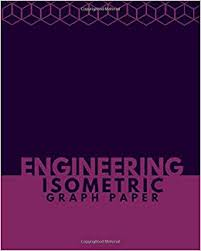 Engineering Isometric Graph Paper Large Isometric Notebook