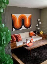 1000 Ideas About 70s Decor Brilliant 60s Home Decor