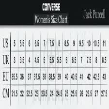 Specific Converse Size Chart For Toddlers Converse Jack