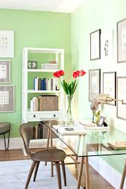 cool home office ideas mixed. Interesting Mixed Soothing Green Wall Paint Color Ideas Mixed With Framed Art Gallery And  Contemporary Home Office Furniture On Cool I