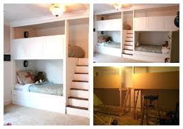 diy built in bunk beds bunk bed plans make your own furniture how to build bunk diy built in bunk beds