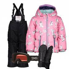 <b>Children's Ski Gear</b> Outfit (Penguin/Black) – Slope Threads