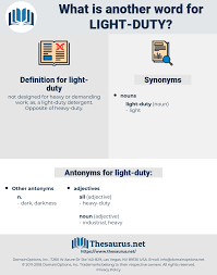 Light Duty Detergent Definition Synonyms For Light Duty Antonyms For Light Duty Thesaurus Net