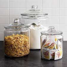 view in gallery retro style lidded glass jars