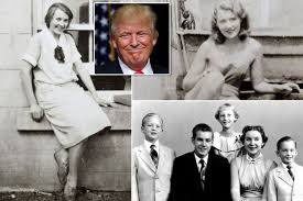 Image result for donald trump parents and siblings and kids and grandparents