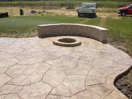 stamped concrete patio. Top Stamped Concrete Patio Ideas