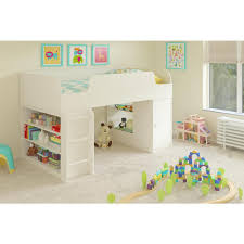 Cosco Elements 1-Piece White Twin Kids Bedroom Set-5861015PCOM - The ...