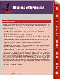 business math business math formulas ebook by pamphlet master rakuten kobo