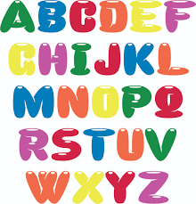Print english letters for coloring, so that your child learns the language faster! 6 Best Colored Printable Bubble Letter Font Printablee Com