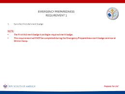 Emergency Preparedness Merit Badge Chart Emergency Preparedness Swfl Council Panther District Jakub