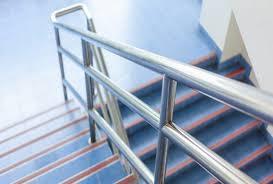 Stufenbeläge aus kautschuk/gummi und pvc. Handlauf Einer Treppe Masse Und Vorgaben Tuv Sud