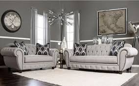 contemporary gray living room furniture. Delighful Contemporary SM2291 Furniture Of America Living Room Modern Victorian Style Gray Fabric Throughout Contemporary Room