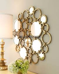 neiman marcus metal gold mirror ring circles wall art modern horchow large modern on large metal mirror wall art with new neiman marcus metal 36 gold mirror ring circles wall art modern