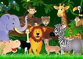jungle wallpaper for kids. Fine For Kids Wallpaper  WILD ANIMALS U0026quot JUNGLE Wall Mural Green Wall  Decor In Jungle For F