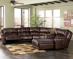 ashley leather living room furniture. Wonderful Plush Leather Sofa Ashley Furniture Store Chicago Living Room