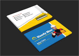 handyman business handyman business cards 4 free psd vector eps png format