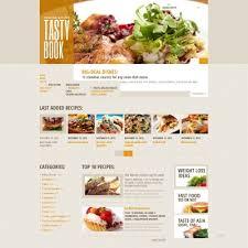 Food Recipe Template 10 Best Cooking Website Templates