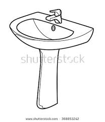 bathroom clipart black and white. Contemporary Bathroom Bathroom Clipart Black And White Toilet Old Fashioned