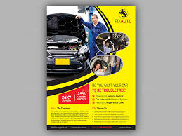 Auto Repair Flyer Auto Repair Flyer Template Magdalene Project Org