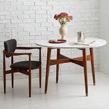 marble dining table west elm. reeve mid-century dining table - west elm. super expensive, but so beautiful marble elm r