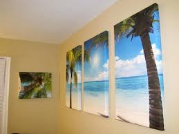image of diy wall art on canvas
