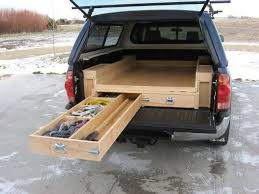 another idea for tricking out the car for camping design inspiration for platform project find this pin and more on diy car vault truck bed drawers