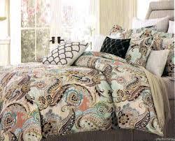 paisley king comforter set