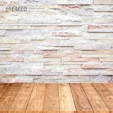 <b>Laeacco Brick Wall</b> Wooden Floor Portrait Grunge Photozone Photo ...