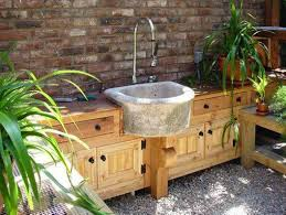 Outdoor Kitchen Sinks Stone Outdoor Kitchen Sinks Practical Outdoor Kitchen Sinks