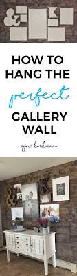 How To Hang a Gallery Wall. Gallery Wall BedroomWall Decor ...