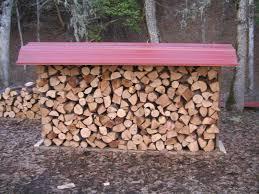 outdoor firewood rack ideas
