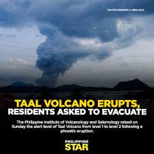 Image result for volcano taal eruption 2020