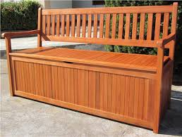 How To Build Outdoor Weather Resistant Multi Function Storage Wood Bench With Storage Plans