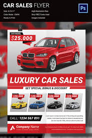 Car Flyers Simple Sale Flyer Template Example Sales Make A Online Free 18