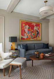 Contemporary New York Apartment With Chic Midcentury Vibe - Small new york apartments interior