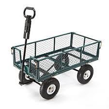 garden cart. Gorilla MH-1242-D 2-in-1 Utility Cart Garden