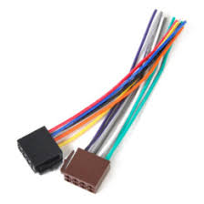 discount radio wiring harness adapter 2017 car radio wiring Car Stereo Wiring Harness Adapter new universal iso wire harness female adapter connector cable radio wiring connector adapter plug kit for auto car stereo system sony car stereo wiring harness adapter