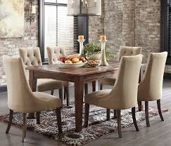 dining room tables with tufted chairs. rustic dining table and button tufted side chairs room tables with r