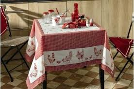 ens tablecloth french country table linen by linens round tablecloths red